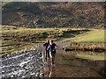 NY2706 : Weir on Mickleden Beck by Trevor Littlewood