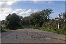 SW6132 : Lane to Gwedna by Ian Capper
