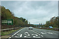 TQ0051 : A3 approaching A322 exit by Robin Webster