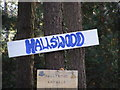 TG1818 : Hallswood Animal Sanctuary Sign by Adrian Cable