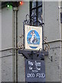 TM3192 : The Mermaid Inn Public House sign by Adrian Cable