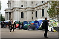 TQ3181 : Occupy London Encampment by Peter Trimming