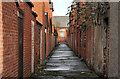 J3272 : Back entry, Belfast (5) by Albert Bridge