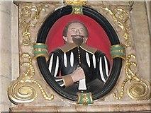 SK7953 : Memorial to Robert Ramsey, St Marys church, Newark by J.Hannan-Briggs