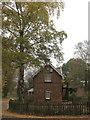 SJ6167 : Former stationmasters house beside Whitegate Way by Dr Duncan Pepper