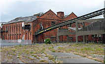 TA2710 : Former ice factory, Grimsby by Stephen Richards