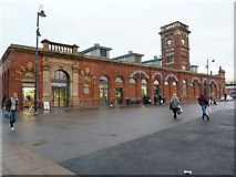 SJ9399 : Ashton-Under-Lyne Market Hall by Alexander P Kapp