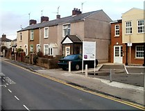 ST3288 : Short row of houses, Duckpool Road, Newport by Jaggery