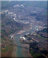 TM1741 : Ipswich from the air by Thomas Nugent