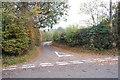 TQ8230 : Junction of Alder lane and Sandhurst lane by Julian P Guffogg