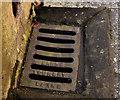 J4099 : Larne Foundry grating cover, Glynn by Albert Bridge