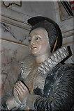 TQ8833 : Martha Whitfeld, Memorial, St Mildred's church, Tenterden by Julian P Guffogg