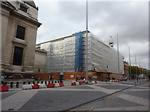 TQ2679 : Science Museum under wraps by Peter Barr
