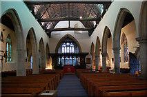 TQ8833 : Interior of St Mildred's church, Tenterden by Julian P Guffogg