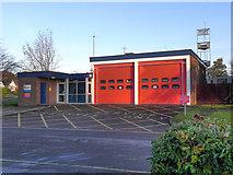 SJ9283 : Poynton Fire Station by David Dixon