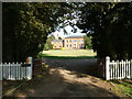 TL9561 : The Old Rectory, Drinkstone by John Goldsmith