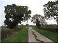 SJ6664 : Weaverhall Lane by Dr Duncan Pepper