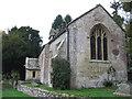 ST7467 : St. Mary's Church, Charlcombe by Virginia Knight