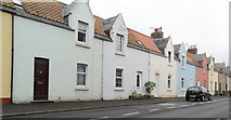 NT6578 : Row of houses, West Barns, East Lothian by nick macneill
