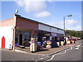 TG3136 : Seafront shops at Mundesley by Martin Speck