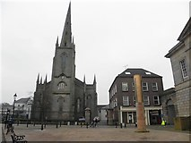 H6733 : Courthouse Square, Monaghan by Kenneth  Allen