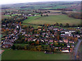 TL1521 : Breachwood Green from the air by Thomas Nugent