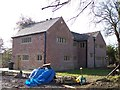 SD5912 : Mullioned windows at Rigby House Farm by Raymond Knapman