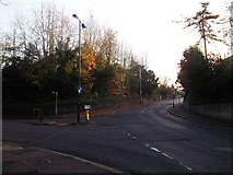 TQ3060 : Road junction on Old Lodge Lane by David Anstiss