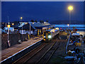NG7627 : The final departure of the day from Kyle of Lochalsh station by John Lucas
