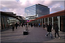 TQ3884 : Footbridge between Stratford Centre and Westfield by Danny P Robinson