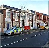 SS8591 : Maesteg Police Station by Jaggery