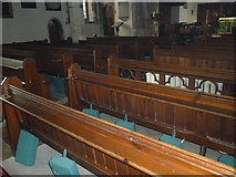 TQ4210 : St Thomas à Becket, Cliffe: pews by Basher Eyre