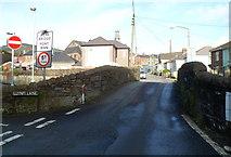 SS8591 : Small stone bridge over the River Llynfi, Church Street, Maesteg by Jaggery