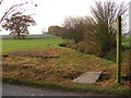 TM2371 : Footpath off Wilby Road by Adrian Cable