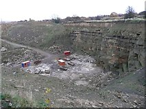 SE1232 : Quarry off Deep Lane, Clayton by Humphrey Bolton