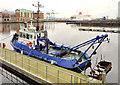 "J3474 : The tug ""Otterbank"" at Belfast by Albert Bridge"