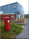 HU4642 : Lerwick: postbox № ZE1 124, South Gremista Industrial Estate by Chris Downer