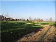 SU5985 : Road through the paddock by Bill Nicholls