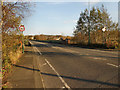 SJ9793 : A560, Approaching Hattersley Viaduct by David Dixon