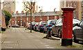 J3374 : Pillar box, Belfast by Albert Bridge