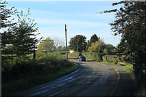 ST8081 : 2011 : Station Road, between Acton Turville and Badminton by Maurice Pullin