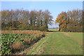 TL5861 : Footpath to Swaffham Prior by Hugh Venables