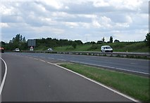 TG1607 : Joining the A47, Norwich bypass by N Chadwick