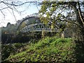 ST1380 : Footbridge and pipeline [1] by Robin Drayton