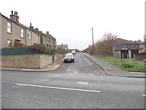 SE1527 : West Croft - Huddersfield Road by Betty Longbottom