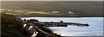 HU4063 : The Harbour at Voe by Robert W Watt