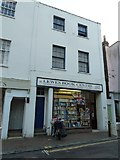 TQ4210 : Cliffe High Street- Lewes Book Centre by Basher Eyre
