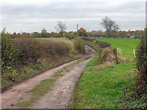 SJ6826 : Pixley Lane by Row17