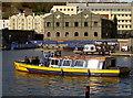 ST5772 : Yellow ferry by Neil Owen