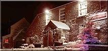 NZ0759 : The village inn: a warm welcome on a cold night by Robert W Watt